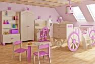 Sypialnia dziecięca Korona Księżniczki