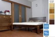 Łóżka drewniane Londyn z szufladą