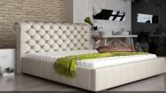 Łóżko tapicerowane Loos z pojemnikiem