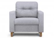 Fotel MERIDA jasny szary