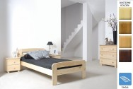 Łóżko drewniane Marsylia