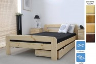 Łóżko drewniane Marsylia z szufladą