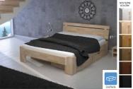 Łóżko drewniane Menchester z pojemnikiem