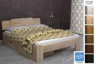 Łóżko drewniane Menchester z szufladą
