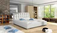 Łóżko tapicerowane Miluza z pojemnikiem
