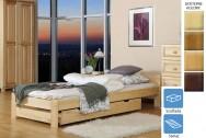 Łóżko drewniane Monachium z szufladą
