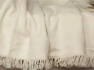 Koc bawełniany jednobarwny Moreno