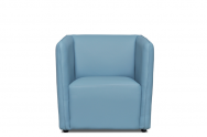 Fotel RICHI błękitny