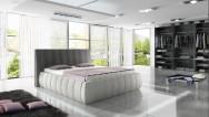Łóżko tapicerowane Lora z pojemnikiem