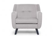 Fotel ADEL platynowy