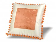 Poduszka Pomarańczowa Ramka