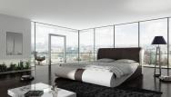 Łóżko tapicerowane Rodan z pojemnikiem