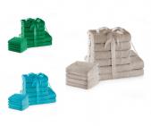Zestaw 10 ręczników AMARILIS - różne kolory