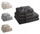 Zestaw 4 ręczników AMARILIS - różne kolory