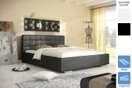 Łóżko tapicerowane Roman z pojemnikiem