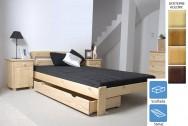 Łóżko drewniane Ryga z szufladą