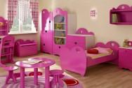 Sypialnia dziecięca Serduszko