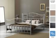 Łóżko metalowe Spirale