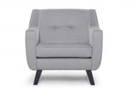Fotel ADEL jasny szary