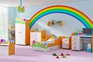 Sypialnia dziecięca Tęcza