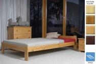 Łóżko drewniane Teneryfa