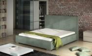 Łóżko tapicerowane Tuluza z pojemnikiem