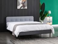 Łóżko tapicerowane OSLO szary