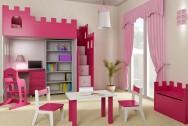 Sypialnia dziecięca Zaczarowany Zamek