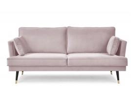 Sofa trzyosobowa SHEILA różowy