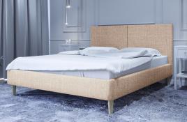 Łóżko tapicerowane SINTRA ecru sawana