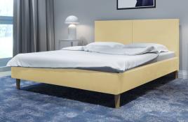 Łóżko tapicerowane SINTRA  ecru monolith