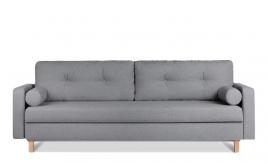 Sofa trzyosobowa MERIDA ciemny szary