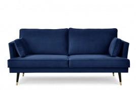 Sofa trzyosobowa SHEILA granatowy