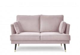 Sofa dwuosobowa SHEILA różowy