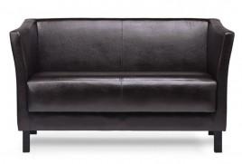 Sofa dwuosobowa SPECTRE ciemny brąz