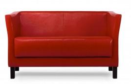 Sofa dwuosobowa SPECTRE czerwony