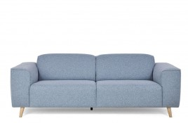 Sofa trzyosobowa PETER błękitny