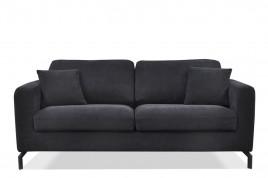 Sofa trzyosobowa KAYA czarny