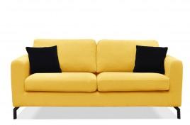 Sofa trzyosobowa KAYA żółty