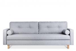 Sofa trzyosobowa MERIDA jasny szary