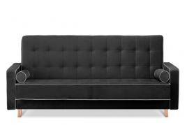 Sofa trzyosobowa FLORENCE czarny/szary