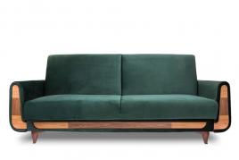 Sofa trzyosobowa REST ciemny zielony