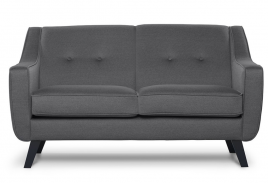 Sofa dwuosobowa ADEL ciemny szary