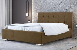Łóżko tapicerowane MOSS beżowe casablanca