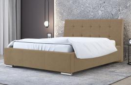 Łóżko tapicerowane MOSS ecru casablanca