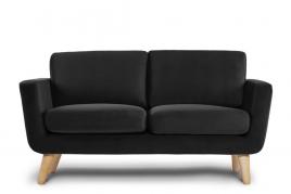 Sofa dwuosobowa DINA czarny