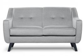 Sofa dwuosobowa ADEL jasny szary