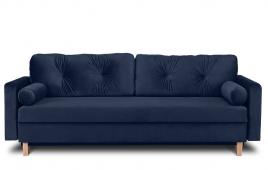 Sofa trzyosobowa MERIDA  granatowy