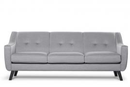 Sofa trzyosobowa ADEL jasny szary