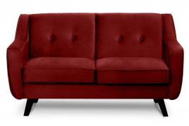 Sofa dwuosobowa ADEL bordowy